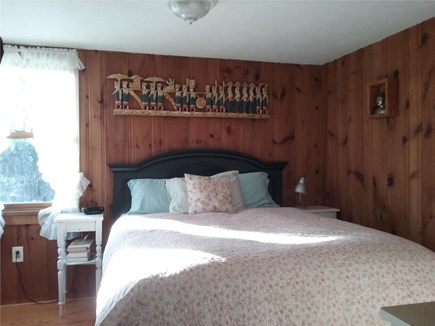 Eastham Cape Cod vacation rental - Main bedroom with queen.