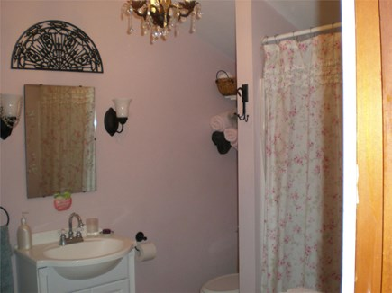 Eastham Cape Cod vacation rental - Large, clean bathroom with full tub.