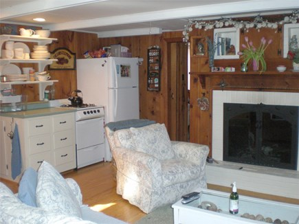 Eastham Cape Cod vacation rental - Open floor plan kitchen/living room.