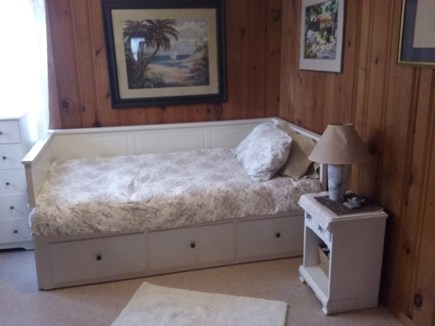 Eastham Cape Cod vacation rental - Second bedroom-day bed converts into queen bed.  Cot available