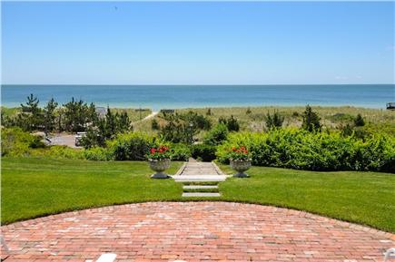 West Hyannis Port Cape Cod vacation rental - Back with path to private beach