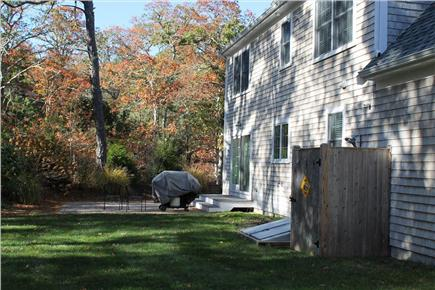 Harwich Cape Cod vacation rental - Backyard and Outdoor Shower