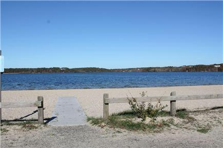 Harwich Cape Cod vacation rental - Long Pond Beach DIRECTLY Across the Street!