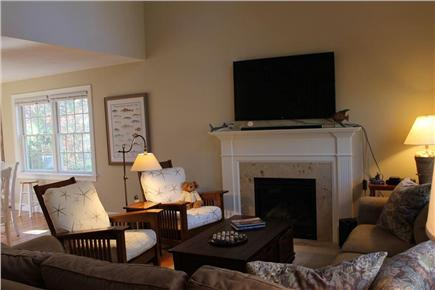 Harwich Cape Cod vacation rental - Flat Screen TV in LR
