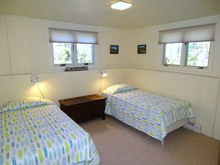 Truro Cape Cod vacation rental - Twin bedroom on lower level