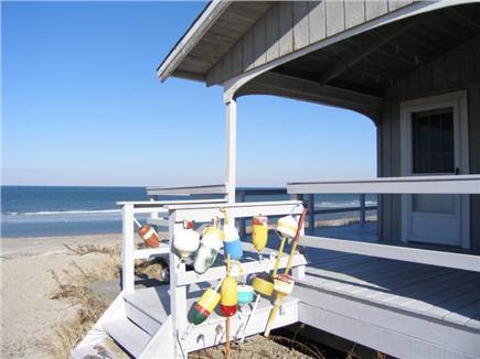 East Sandwich Cape Cod vacation rental - Side Entrance
