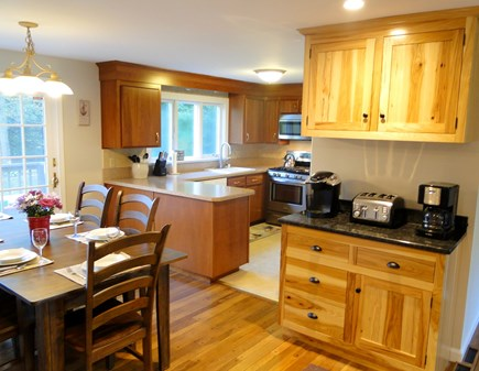 Chatham Cape Cod vacation rental - Modern kitchen with new stainless-steel appliances