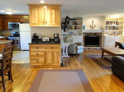 Chatham Cape Cod vacation rental - Open floor plan w/ living room, dining and kitchen area