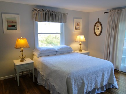 Chatham Cape Cod vacation rental - Master bedroom offer sliders to deck
