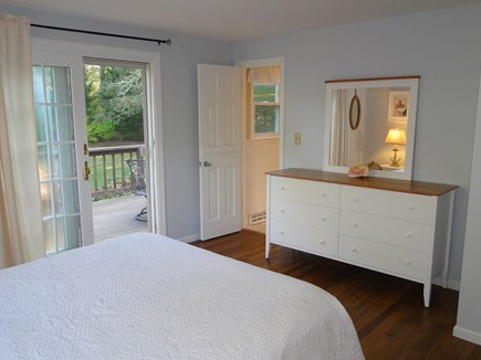 Chatham Cape Cod vacation rental - Queen master bedroom with bathroom