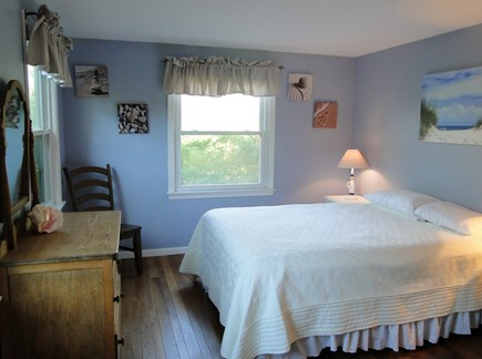 Chatham Cape Cod vacation rental - Queen bedroom with hardwood floors