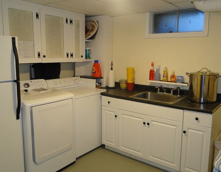 Chatham Cape Cod vacation rental - Downstairs large laundry room