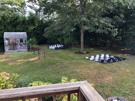 Chatham Cape Cod vacation rental - Giant chess, Giant checkers, Corn hole, Ladder ball, and Kan Jam