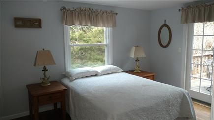 Chatham Cape Cod vacation rental - Queen bed,  Sliding glass door onto deck
