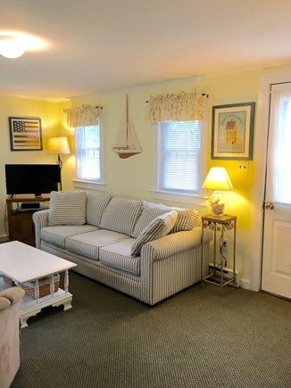 Chatham Cape Cod vacation rental - Living room with queen sleep couch.