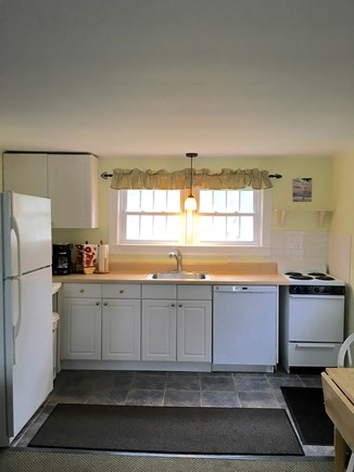 Chatham Cape Cod vacation rental - Kitchen with dishwasher and oversized refrigerator.