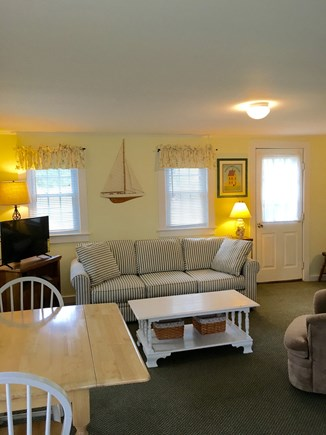 Chatham Cape Cod vacation rental - Living room with dining table.