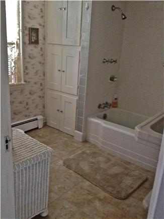 Barnstable Cape Cod vacation rental - Full Bath; tub / shower (upstairs).  Half bath downstairs.