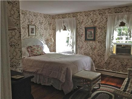 Barnstable Cape Cod vacation rental - Pink Room / Queen Bed; first bedroom at top of stairs.