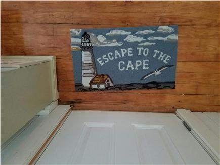Dennisport Cape Cod vacation rental - To greet you as you walk in the door.