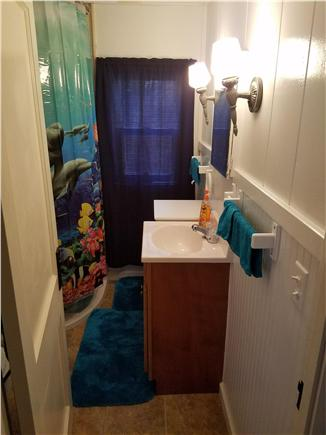 Dennisport Cape Cod vacation rental - 1 full bathroom as well as an outdoor shower