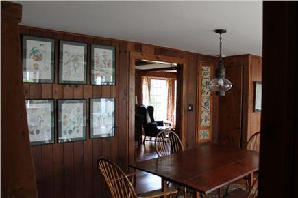Harwich Port Cape Cod vacation rental - Dining Area to Front Living Room