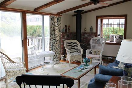 Harwich Port Cape Cod vacation rental - Sunroom to deck