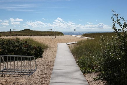 Falmouth, Belmar Cape Cod vacation rental - Bike or walk to private beach- complete with volleyball court.