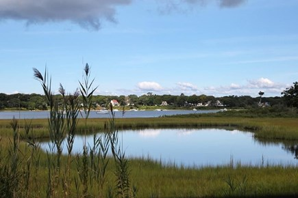 Falmouth, Belmar Cape Cod vacation rental - 2 kayaks are provided for your use on Great Pond.