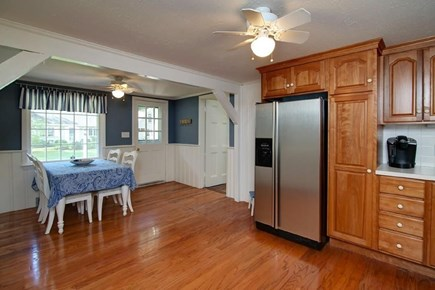 Falmouth, Belmar Cape Cod vacation rental - Eat in kitchen with updated appliances.