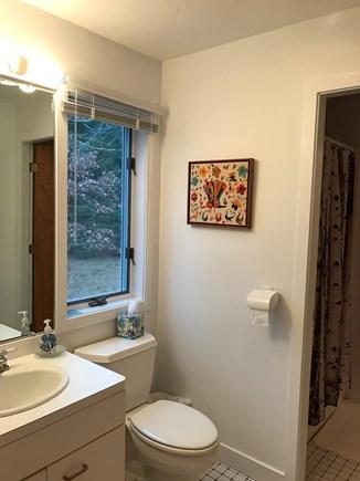 Wellfleet Cape Cod vacation rental - one of the first floor bathrooms