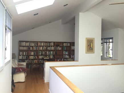 Wellfleet Cape Cod vacation rental - Library on second floor