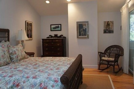 Wellfleet Cape Cod vacation rental - Partial view of spacious master bedroom (daybed not shown)