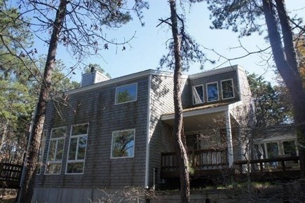Wellfleet Cape Cod vacation rental - North view of house