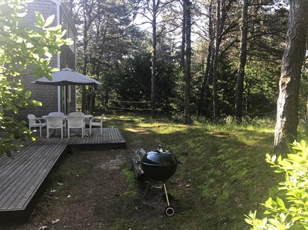 Wellfleet Cape Cod vacation rental - South Patio