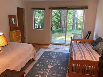 Wellfleet Cape Cod vacation rental - First Floor Bedroom 1 - full and twin beds
