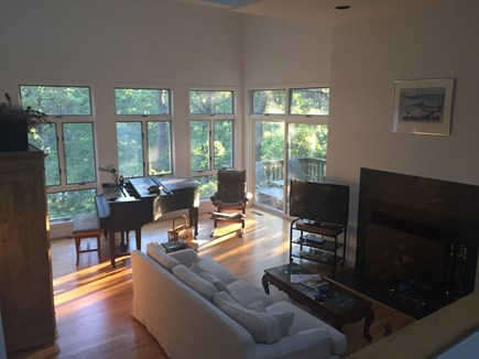 Wellfleet Cape Cod vacation rental - Living room view