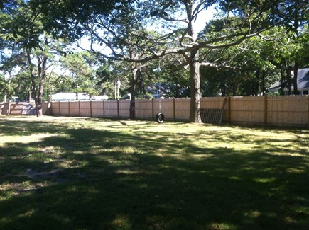Yarmouth Cape Cod vacation rental - Front Yard- no tire swing