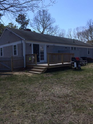 Yarmouth Cape Cod vacation rental - 2015  Backyard