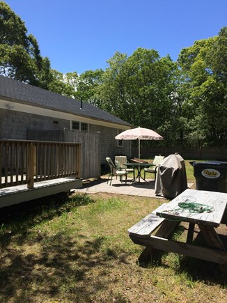 Yarmouth Cape Cod vacation rental - Patio
