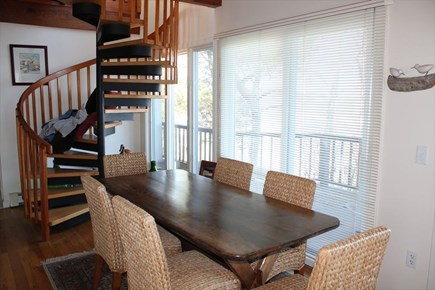 East Harwich Cape Cod vacation rental - Dining Area