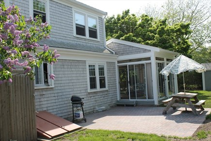 Harwichport Cape Cod vacation rental - Rear