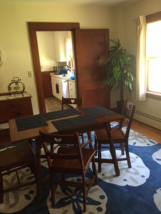 Brewster Cape Cod vacation rental - Dining room from living room