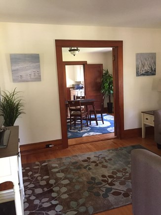 Brewster Cape Cod vacation rental - Looking across living room into dining room