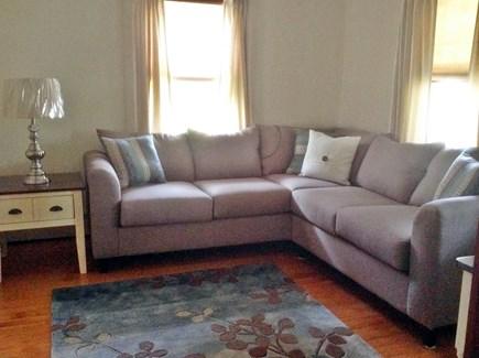 Brewster Cape Cod vacation rental - Living room w/flat screen TV