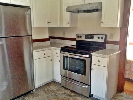 Brewster Cape Cod vacation rental - Kitchen with stainless appliances