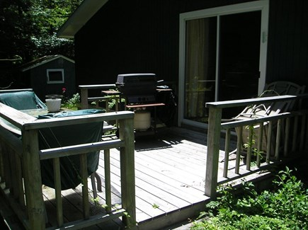 Woods Hole Woods Hole vacation rental - Deck