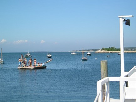 Woods Hole Woods Hole vacation rental - Raft at private beach