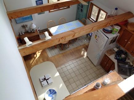 Wellfleet Cape Cod vacation rental - Birds Eye View of kitchen