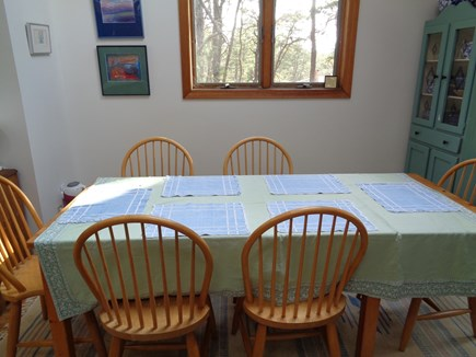 Wellfleet Cape Cod vacation rental - Dining area can easily seat 6